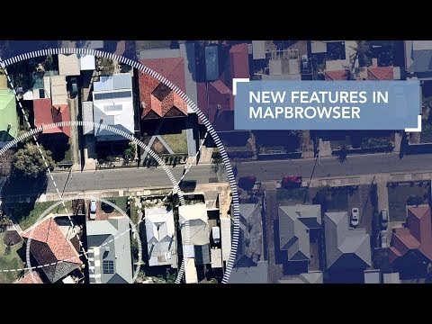 MapBrowser - New Features - Boundaries, KMLs And Elevation Profile