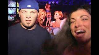 Fred Durst with Hugh Hefner B'Day Party at the Playboy Mansion 2000
