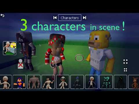 Animate It - 3 characters!