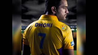 M.S Dhoni IPL Latest photos
