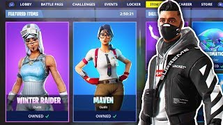 🔴 New Fortnite Skins! Fortnite Item Shop Update - January 4th New Skins - Fortnite Battle Royale