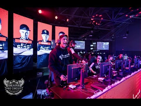 GEARS OF WAR 4 - Ronin vs Ghost MLG Dallas 1/4 Finals! 300,000$ Prize Pool.!❉