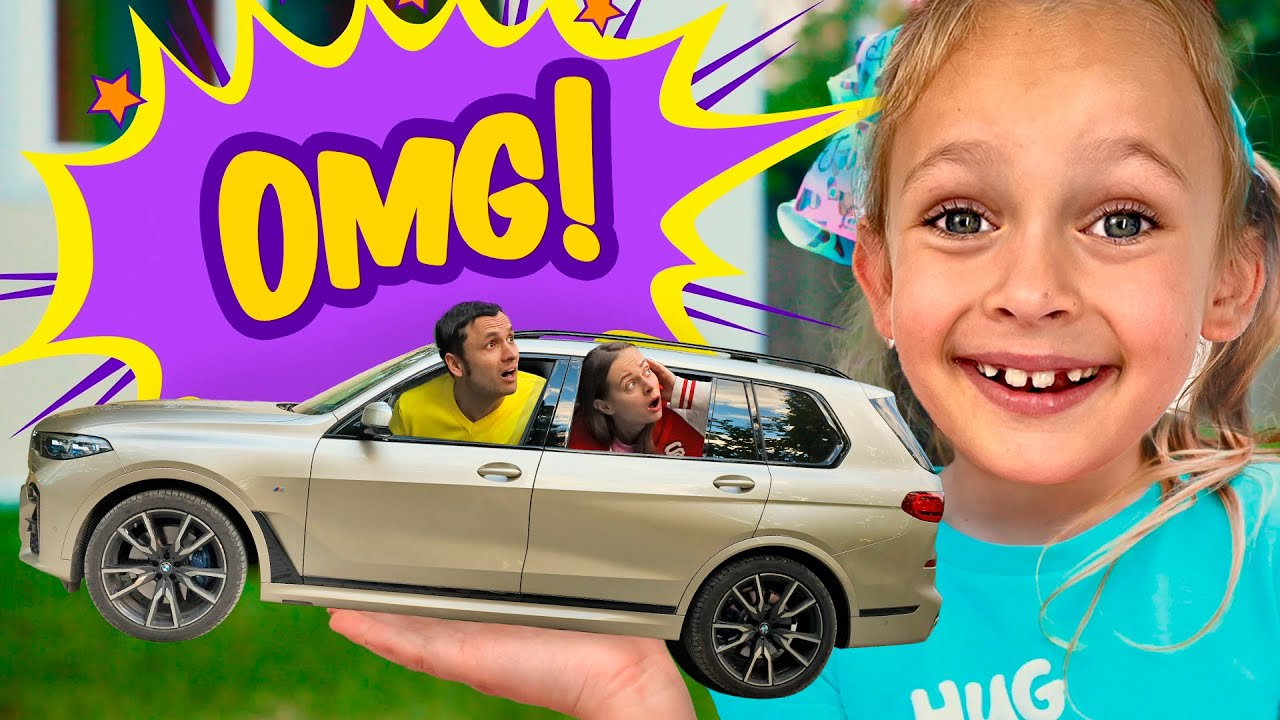 Very Small Song - Maya turned real car into a toy car