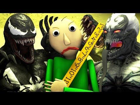 БАЛДИ vs ВЕНОМ - ФИЛЬМ АНИМАЦИЯ (Baldi vs Venom ВСЕ СЕРИИ ПОДРЯД)