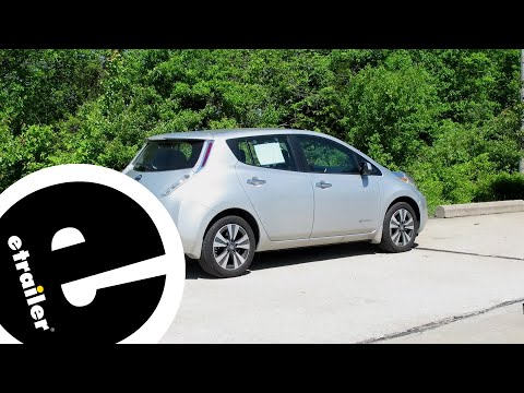 Etrailer | Trailer Hitch Installation - 2017 Nissan Leaf - Curt