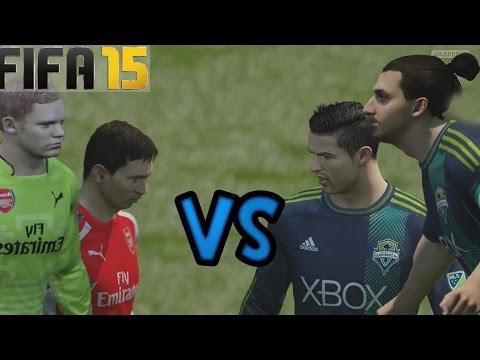 Fifa 15 Ultimate Team - Duelo de Super Equipos Messi Vs Ronaldo - Team PRO