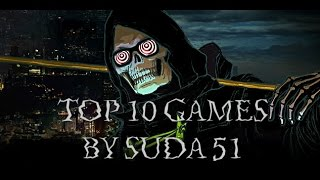 Top 10 Video Games by Suda51 - Let it Die, No More Heroes and more
