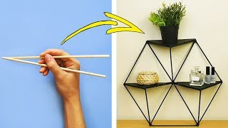 집을 예쁘게 꾸밀 수 있는 DIY 만들기 아이디어 34가지