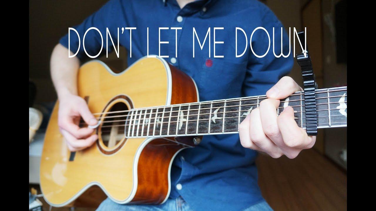 the-chainsmokers-dont-let-me-down-guitar-cover-mattias-krantz-mattias-krantz