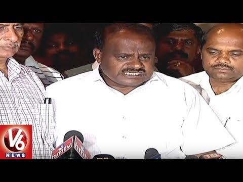 Karnataka Politics   Two of JD(S) MLAs Have Been Hijacked by BJP, Says HD Kumaraswamy   V6 News