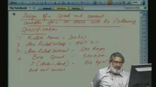 Lecture - 21 DC Motor Speed Control Controller Design 3