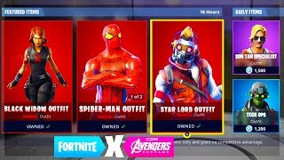 "NEW ""AVENGERS STAR LORD SKIN"" LEAKED! FORTNITE GUARDIANS OF THE GALAXY SKIN BUNDLE! (STAR LORD SKIN)"