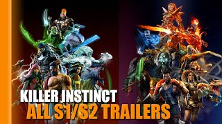 Killer Instinct | All Season 1 & 2 Trailers Complete