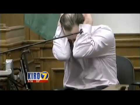 Carnation killer Joseph McEnroe breaks down in King County Superior Court, April 6, 2015