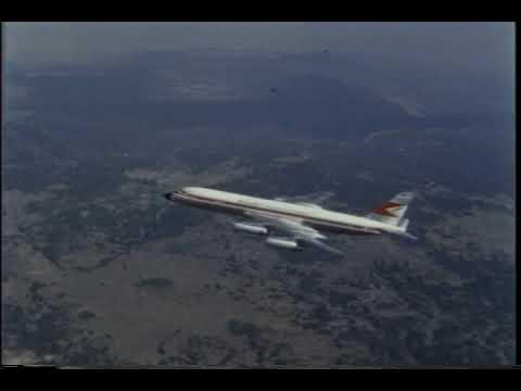 VT 869 General Dynamics Newsreel, Convair 990 Coronado
