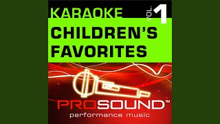 Barney Theme Karaoke Lead Vocal Demo In the style