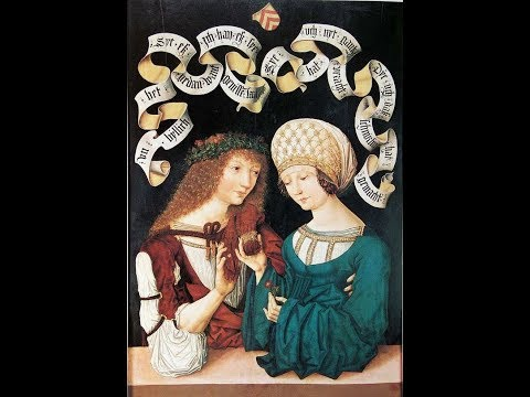 Secular music in late Medieval Germany (1450-1480)