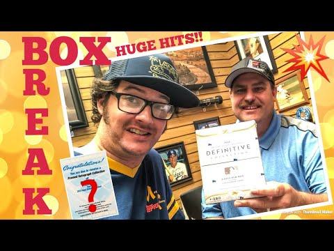 BOX BREAK!! Opening a $1,000 Box of Baseball Cards!