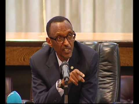 President Kagame at MDG Advocacy Group meeting- Kigali, 2 July 2014
