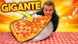 🍕 HO MANGIATO il TRANCIO di PIZZA PIÙ GRANDE del MONDO! 🌎