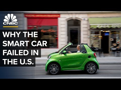 The Smart Car Failed In The US, Now It's Betting On China
