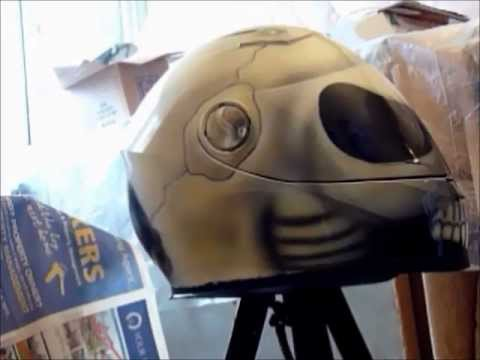 High Speed Skull crash helmet