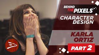 Karla Ortiz - How I Got To Work On Doctor Strange | Concept Art | 3dsense Behind The Pixels