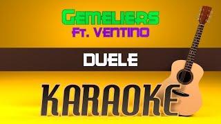Baixar Gemeliers Ft. Ventino - Duele (Karaoke)