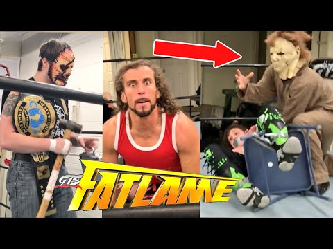 MICHAEL MYERS HORROR AT GTS FATLAME Wrestling PPV Event!