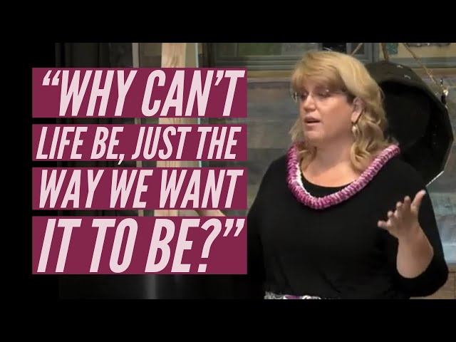 """Kaimuki Christian Church: Pastor Marie Eletise asks, """"Why can't life, be the way we want it to be?"""""""