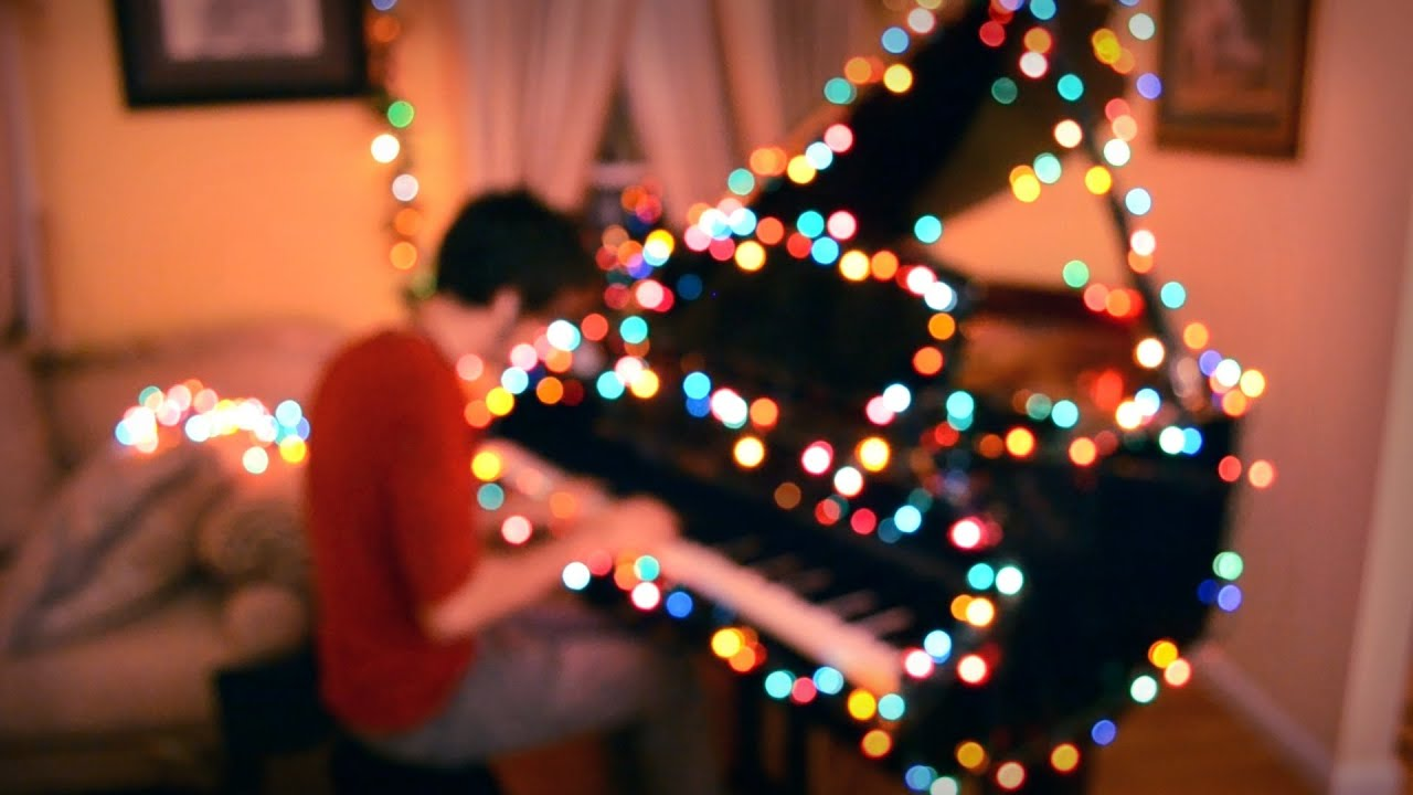 Coldplay Christmas Lights One Man Band Cover Youtube