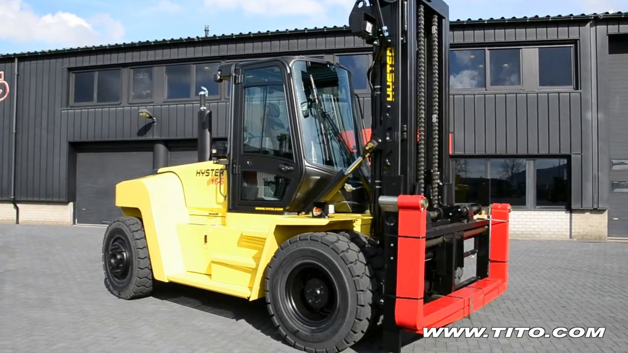 Reachstackers & big forklifts   Tito Lifttrucks   Hyster H16XM-6 Advance