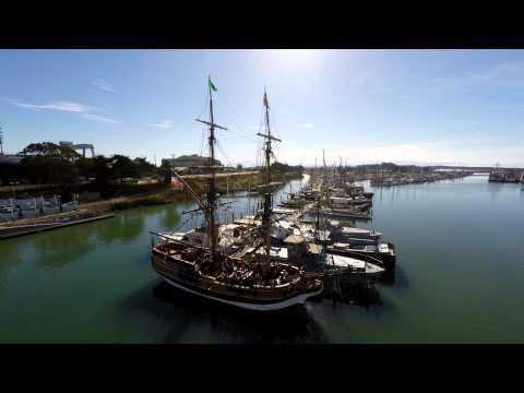 The Tall Ship, Lady Washington