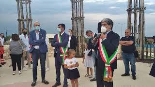 Inaugurazione del Parco Polifunzionale di via Pertini a Ruvo di Puglia