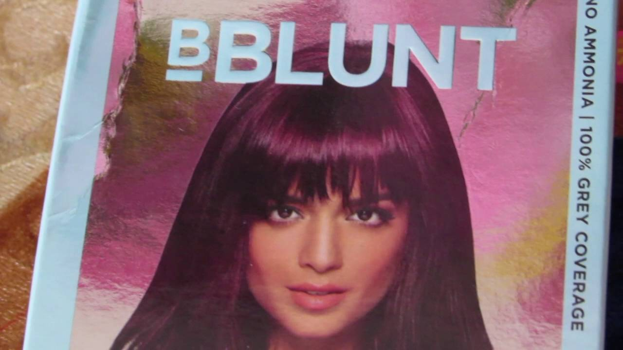 52fe942e912 I RUINED MY HAIR with BBlunt Salon Secret High Shine Creme Hair Color in  WINE Deep Burgundy
