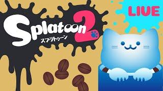 【#Splatoon2】エクスプロッシャー・サーモンラン【アオイネコ / Vtuber】