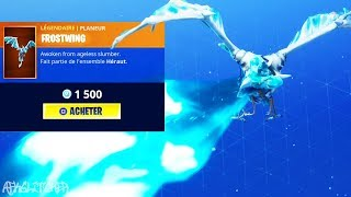 NEW LEGENDARY DRAGON GLIDER - BACK SKIN FOOTBALL! Fortnite Battle Royale