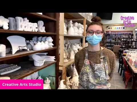Pottery Painting at Creative Arts Studios in Royal Oak