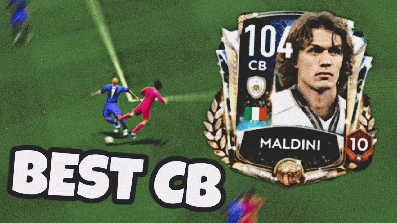 Prime Icon Maldini 104 CB - BEST DEFENDER EVER - Gameplay and Review FIFA Mobile 20 !!