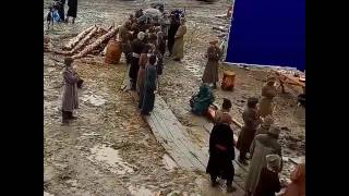 Съёмки фильма Тобол