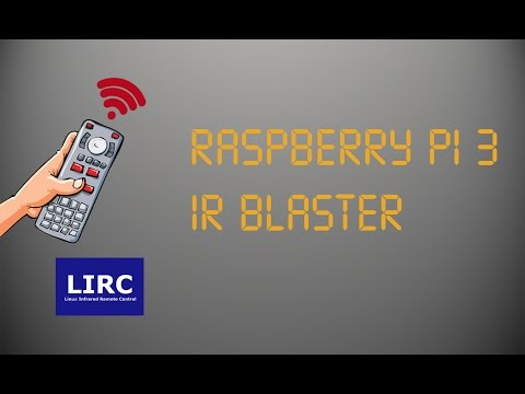 Raspberry Pi 3 IR Blaster (LIRC) - YouTube