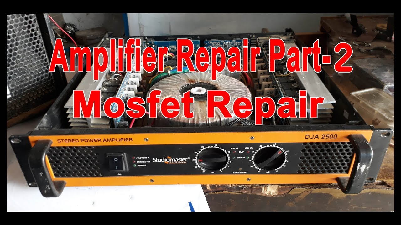 Studiomaster amplifier repair Part-2 (hindi)