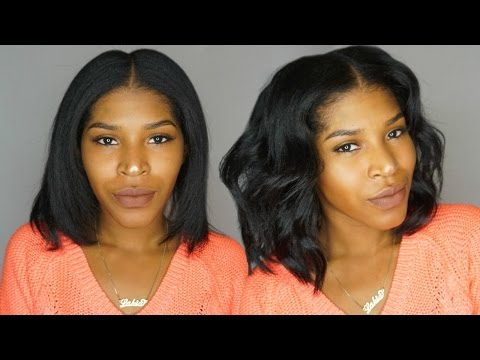 Quick Effortless Waves For Short Hair