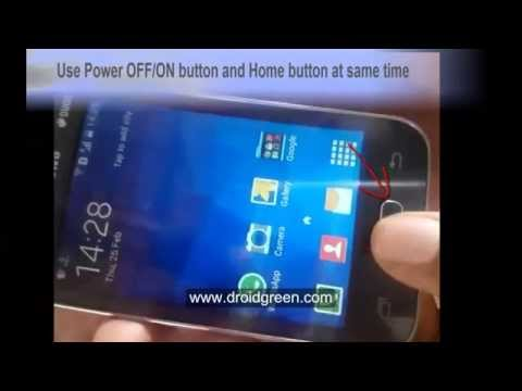 Samsung Galaxy Star 2 SM G130e Screenshot Video record