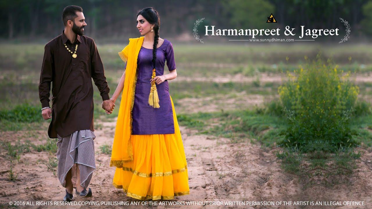 2016   Punjabi Pre Wedding   Harmanpreet & Jagreet   Sunny Dhiman ...