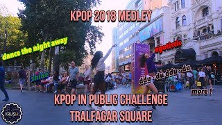 [K-POP IN PUBLIC CHALLENGE] 2018 DANCE MEDLEY/RANDOM DANCE?? IN LONDON  [KRUSH LDN]