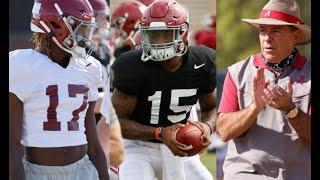 First Look At Alabama Freshmen: Jalen Milroe, Agiye Hall, Jacorey Brooks, Monkell Goodwine