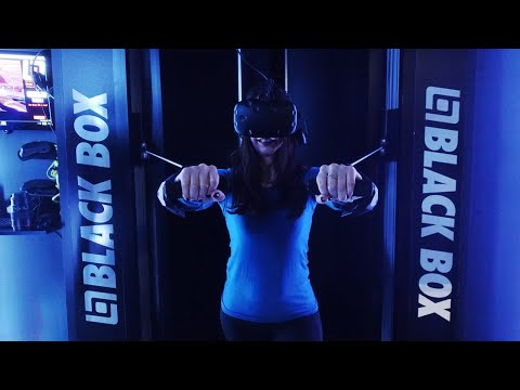 Black Box VR gym first workout