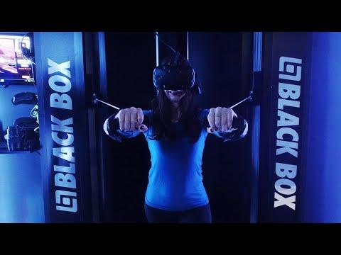 Black Box VR gym first workout