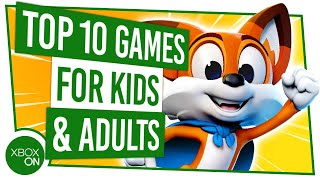 10 Best Games On Xbox Game Pass FOR ADULTS & KIDS!